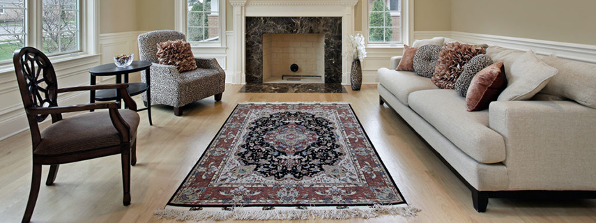 Antique Wool Oriental Rug