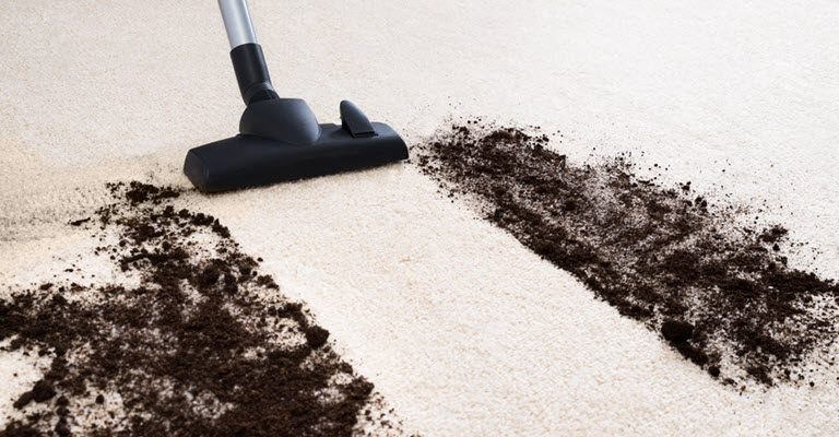 Dirt on Carpet