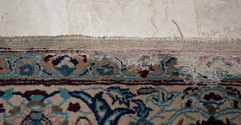 moth-damage-persian-rug