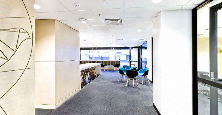 Carpet Floor in Modern Office