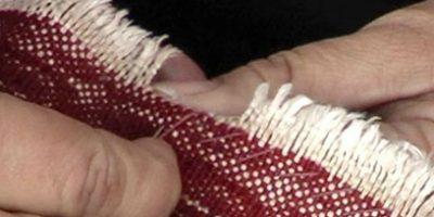 Oriental Rug Hand Stitching
