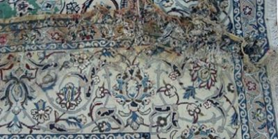 Oriental Rug Water Damage