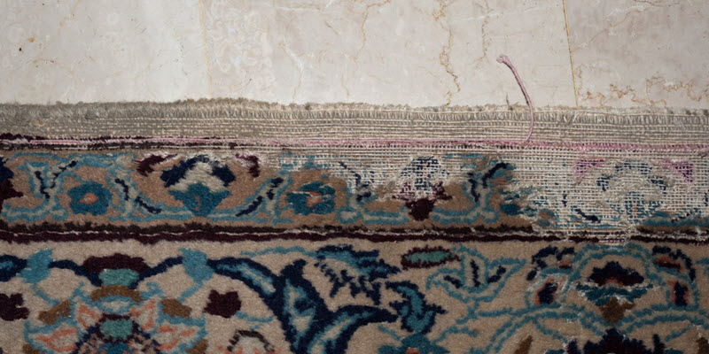 Repair Moth Damage in Oriental Rugs