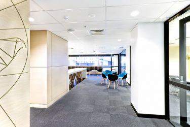 Carpet Floor in Modern Office