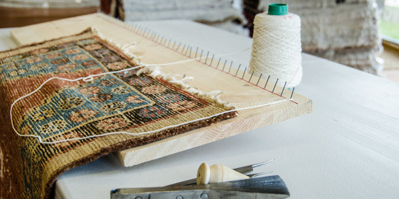 How To Repair Oriental Rug Fringe Smart Choice Rug Care