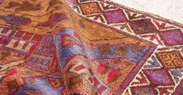 Wrinkled Oriental Rug